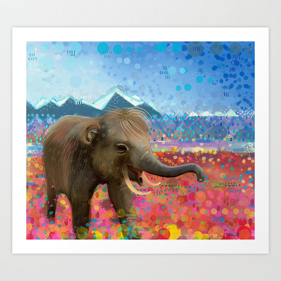 Midnight Mammoth Etsy Pic